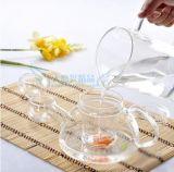De Pot van de Thee van het Glas van de Hittebestendigheid van Customeized Met Infusie