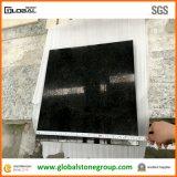 Dessus noirs de compteur/Tableau de granit de perle de qualité pour l'hôtel
