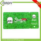Tag chaves de RFID e cartões chaves combinados para o cartão da lealdade e o cartão de sociedade