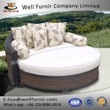クッションが付いているFurnir健康なWf-17073の寝台兼用の長椅子