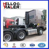 新しい6X4 Type Euro 2中国HOWO A7 371HP Sinotruk Tractor Head