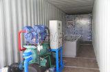 macchina del creatore di schiocco messa in contenitori 40gp del blocco di ghiaccio con cella frigorifera per la trasformazione dei prodotti alimentari