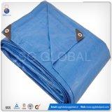 Cobertura de goma de feno impermeável revestida de HDPE de prata azul