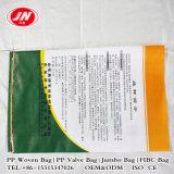 Мешок для 25kg, 50kg рис полипропилена Китая, пшеница, упаковка крахмала