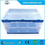Дешевый пластмасовый контейнер с легкой складчатостью