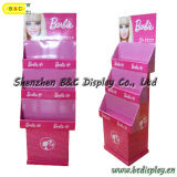 Heiße verkaufenpappfußboden-Bildschirmanzeige für Spielwaren-Produkte, Fußboden-Bildschirmanzeige mit SGS (B&C-A054)