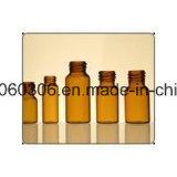 fiole 5ml en verre tubulaire ambre