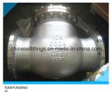 Задерживающий клапан качания фланца отливки CF8m CF8 DIN JIS