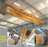 5t 10t Light Duty Double Beam 유럽 Overhead Eot Crane
