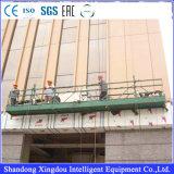 Ая алюминием платформа работы безопасности подъема Zlp630/800 для конструкции здания