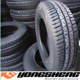 Fabricación 205/55r16 215/65r16 del neumático del coche de la polimerización en cadena de la alta calidad