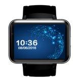 2017 인조 인간 5.1 시계 WCDMA Smartphone가 지능적인 시계 전화 Mtk6572 쿼드 코어에 의하여 Dm98 Bluetooth Smartwatch 3G SIM WiFi GPS