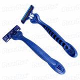 Пластичная бритва лезвия триппеля ручки