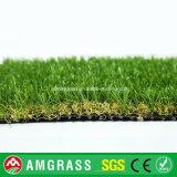 трава бежевого курчавого моноволокна 30mm искусственная для сада