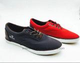 最新の加硫させたブラウンPUの人の靴(ET-FEK160258M)