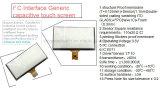 Pantalla táctil capacitiva genérica del interfaz de I2c