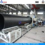 Grande diâmetro de drenagem de HDPE Máquina de fabricação de tubos de espiral de parede oca / linha de produção
