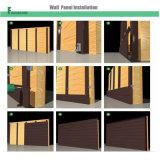 WPC impermeabilizzano il rivestimento composito di plastica di legno della parete