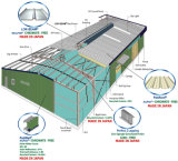Здание стальной структуры низкой стоимости полуфабрикат промышленное