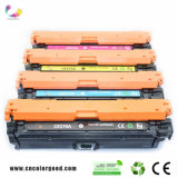 Cartucho de toner genuino del color 650A (CE270A/271A/272A/273A) para la impresora de la original del HP