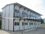 Casa pré-fabricada do acampamento/multi dormitório provisório do andar