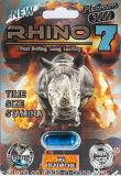 Pas mal de tête! Rapide Longue Durée d'Action durable Rhino 7 Platinum 3000 Mg