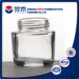 Mouth largo Clear Glass Bottle per Creams