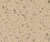 Kf-010 beige Melkweg 3050*1650*20mm de Plak van de Steen van het Kwarts