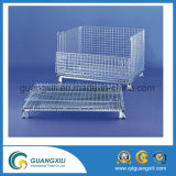 고용량 (1000-3000kgs) 금속 와이어 메시 저장 감금소 콘테이너