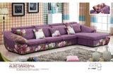 Disegno L moderna sofà del tessuto di figura, mobilia domestica (2166A) di modo