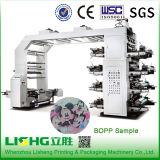 Tipo máquina da pilha de 8 cores de impressão de alta velocidade de Flexo