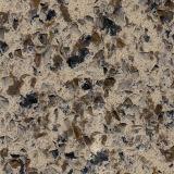 Камень кварца цвета гранита фантазии Kf-202 естественный для Countertop кухни