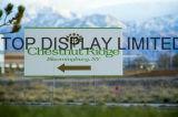 Печатание экрана PS доски PVC листа PP материальное изготовленный на заказ рекламируя пластичный знак ярда рифленого листа
