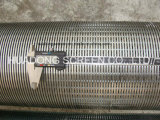 Tubulação de Johnson da tela de fio da cunha da alta qualidade para o controle da areia do poço profundo