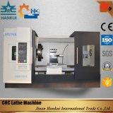 中国の油圧チャックの平床式トレーラーCNCの旋盤(CKNC61100)