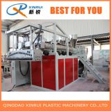 Estera de la bobina del PVC de dos estiradores que hace la máquina