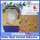 Pegamento que lamina a base de agua para el papel barnizado