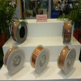 Consumíveis de soldagem 1.2mm 15kg / Spool Er70s-6 Sg2 Cobre solda sólida solda de fio do fornecedor Golden Bridge OEM