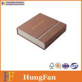 Rectángulo de regalo cosmético del papel de embalaje de la cartulina de papel rígida