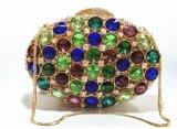Senhora Cristal Bolsas Fashion Party Clutch Evening Bag