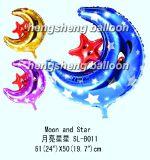 Воздушный шар фольги луны (SL-B011)