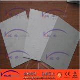 Hoja de unión no amianto comprimida con inserto de alambre