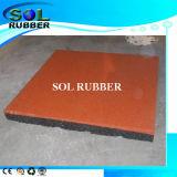 Pavimentazione di gomma di zona resistente Slittare-Resistente di usura