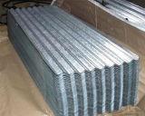 完全な懸命に電流を通された波形の鋼鉄屋根ふき