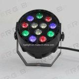屋内使用のための極度の小型ポータブル12X1w RGBW LEDの同価ライト