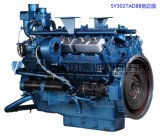 968kw, цилиндр 12, двигатель дизеля Шанхай Dongfeng для комплекта генератора, китайского двигателя