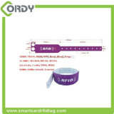 Wristband elegante modificado para requisitos particulares del PVC RFID para la identificación del bebé