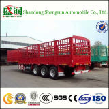 China Shengrun Popular Type de Stake Cargo Semi Trailer em África