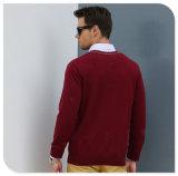 Großhandelsmann-Kaschmir-Strickjacke der tasten-Wolljacke-Art-100%