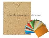 Het kleurrijke In reliëf gemaakte Document van het Leer Korrel